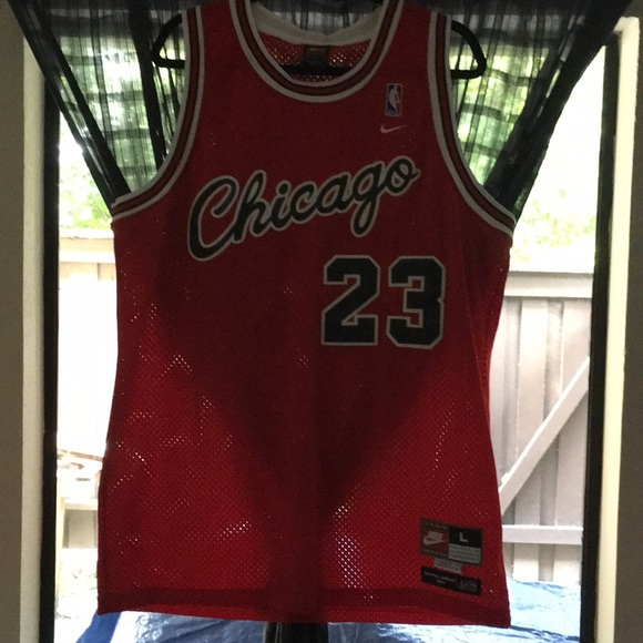 new style d5aa4 3087c AUTHENTIC Chicago Bulls Michael Jordan Jersey